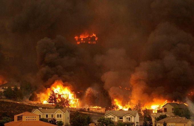 Лісові пожежі в Чилі знищили будинки та людські життя (ВІДЕО)