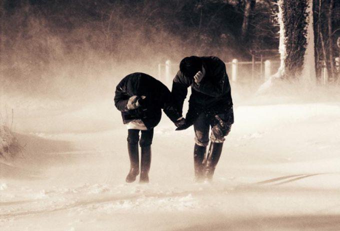 Сьогодні в Україні оголошено штормове попередження