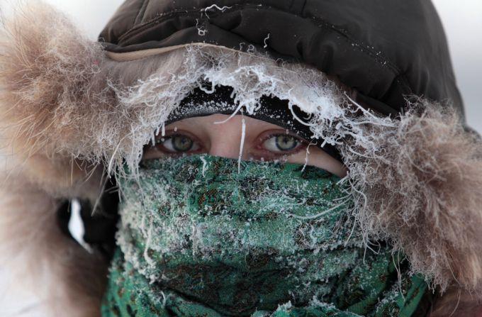 Урал і Сибір скували 30-ти градусні морози (ВІДЕО)