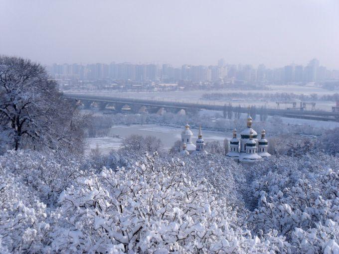 Погода в Києві на 12 лютого