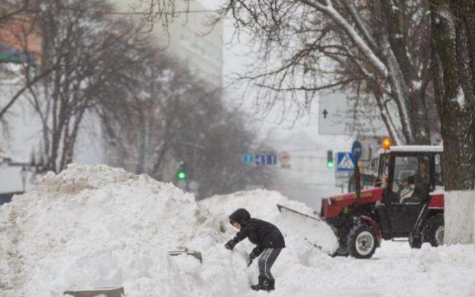 Харків і Суми накриє снігом