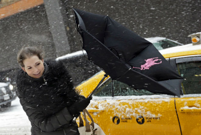 Нью-Йорк оговтується від сніжного шторму (ФОТО)