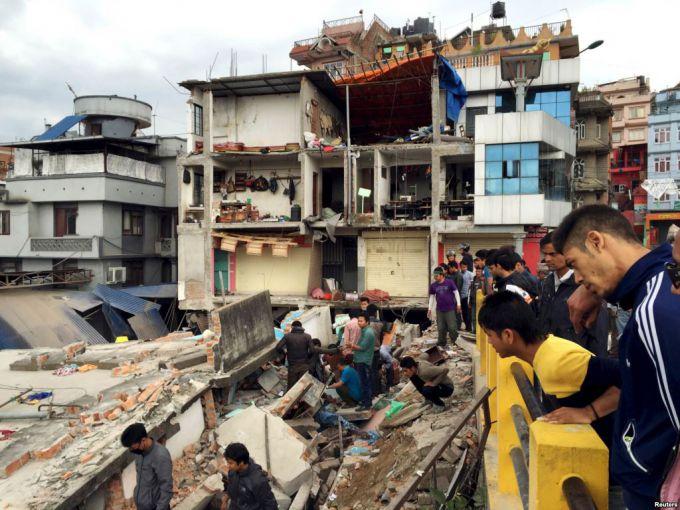 У Непалі землетрус, десятки людей загинули