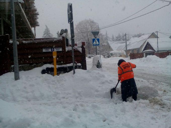 У Сочі випала аномальна кількість снігу за 5 років (ФОТО)