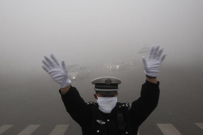 Таймлапс відео,як смог огортає Пекін (ВІДЕО)