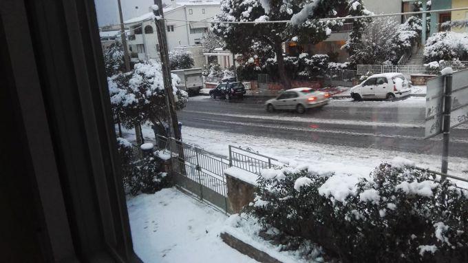 На Грецькі острови обрушилися сильні снігопади (ФОТО)