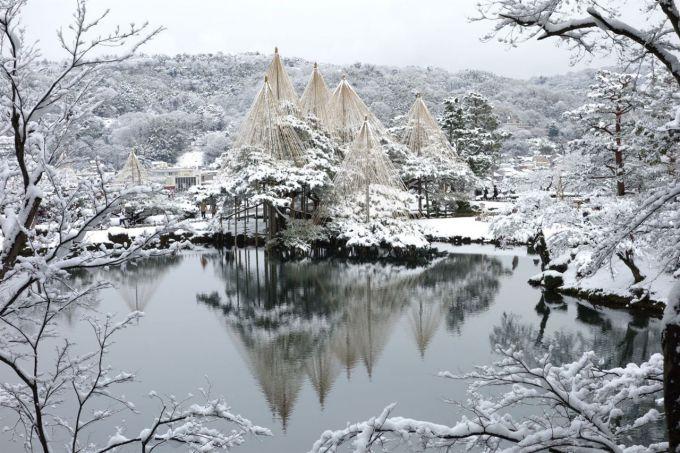 Снігова казка в легендарному японському парку Кіото (ФОТО)
