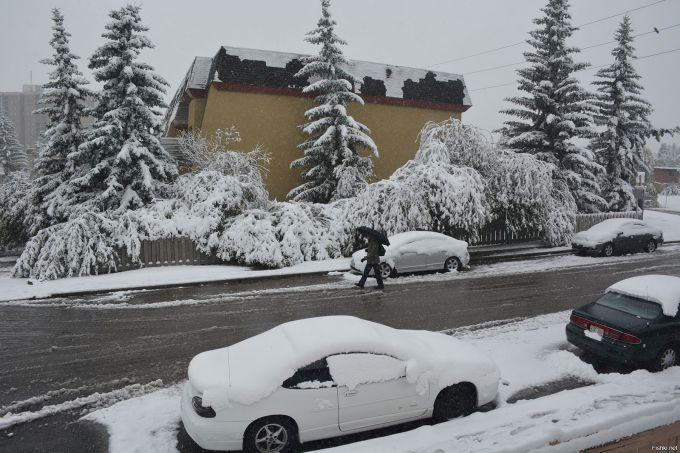 Рекордні снігопади зафіксували в Канаді
