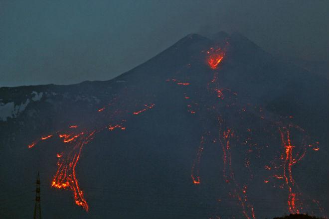 Вулкан Етна ожив (ФОТО)