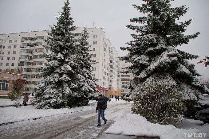 У Мінську з листопада 400 осіб отримали травми через ожеледицю