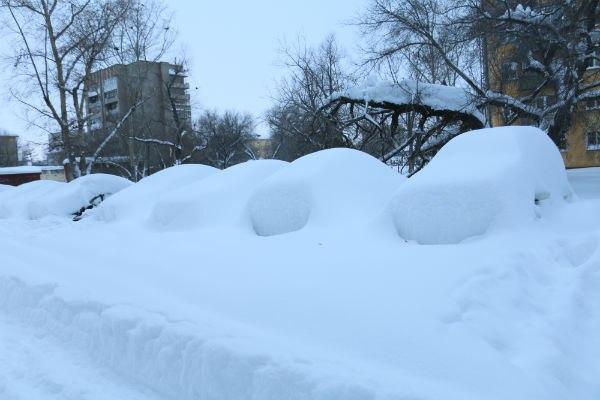 Сильні снігопади