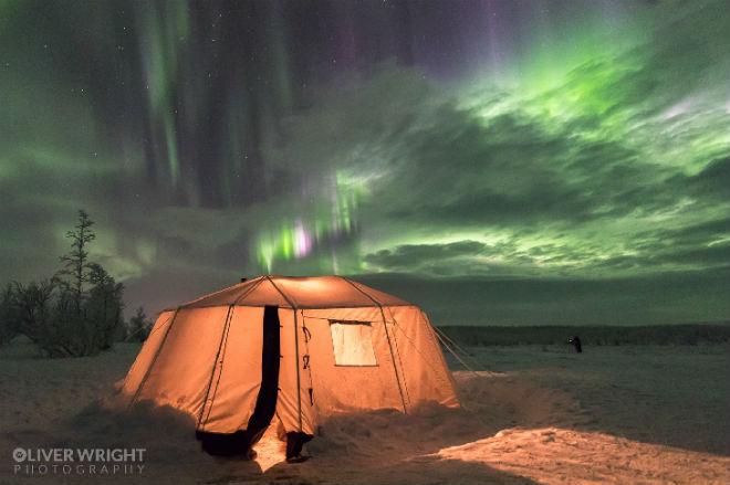 У Швеції з'явилося несподіване полярне сяйво