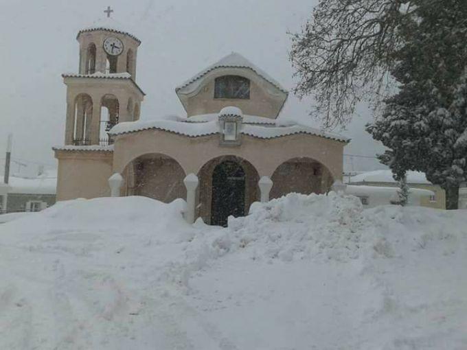 У Греції встановилися рекордні морози