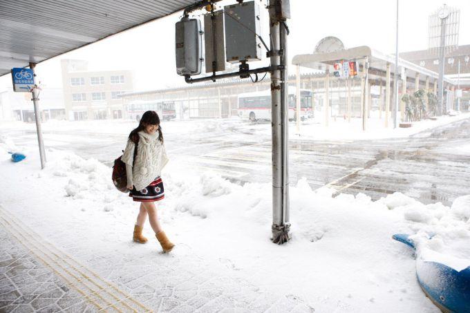 У японському місті Саппоро випала рекордна кількість снігу
