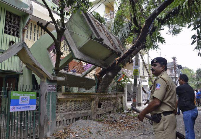 Землетрус в Індії:є жертви (ВІДЕО)