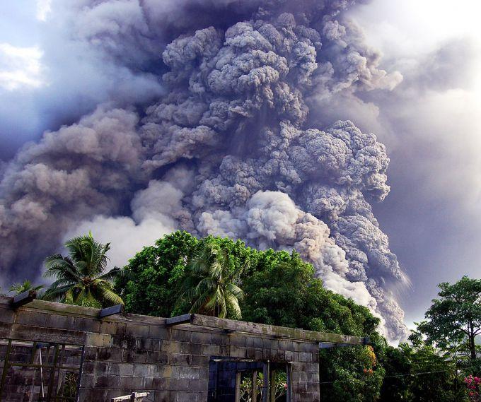 На Філіппінах підвищили рівень небезпеки у зв'язку з вулканом