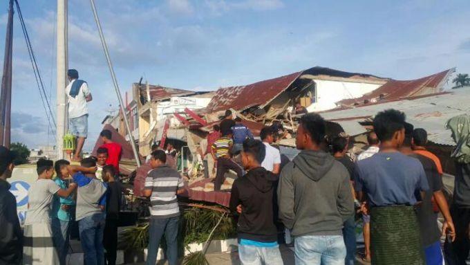 Моторошні наслідки землетрусу на Суматрі, Індонезія (ФОТО)