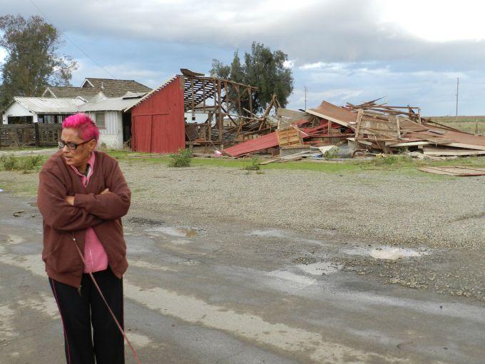 На американський Техас обрушилися шторм, торнадо, град і повені (ФОТО)
