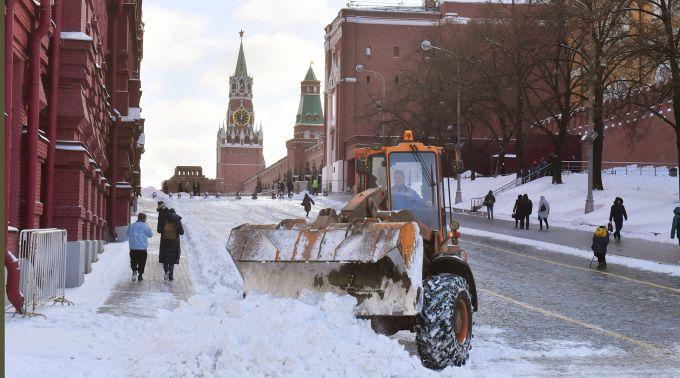Москву замете снігом