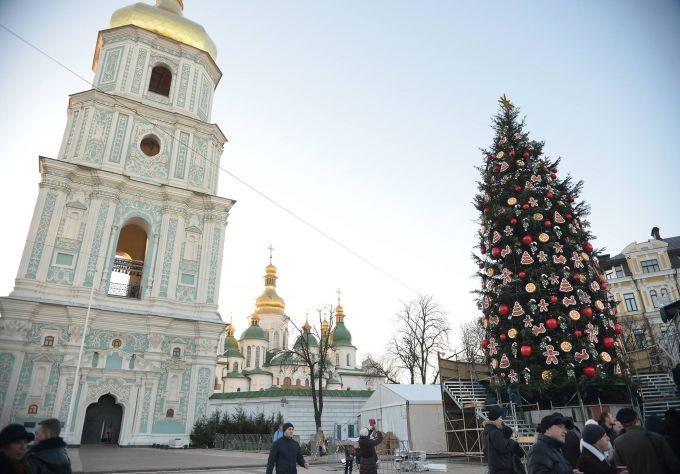 Погода в Києві на Новий Рік