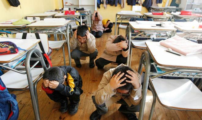 У Японії землетрус і загроза цунамі