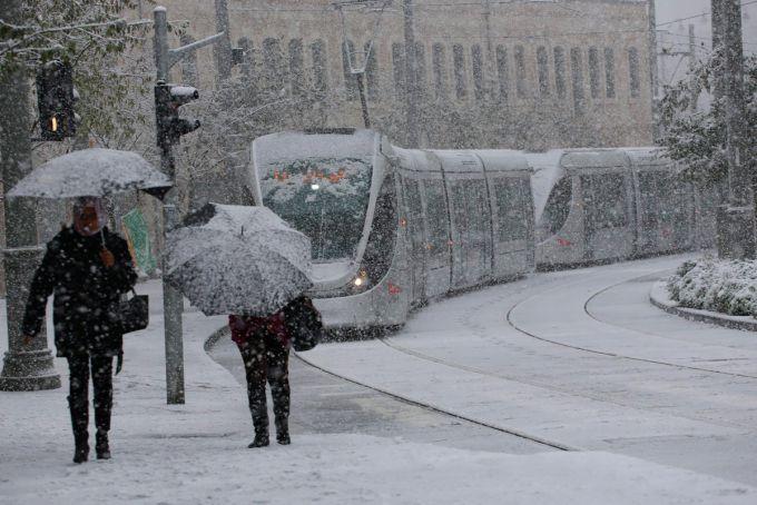 Снігопад обрушився на північ Ізраїлю