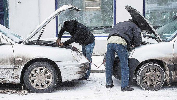 Як завести машину в мороз?