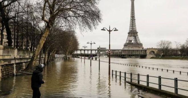 Новий підйом рівня Сени прогнозують на сьогодні