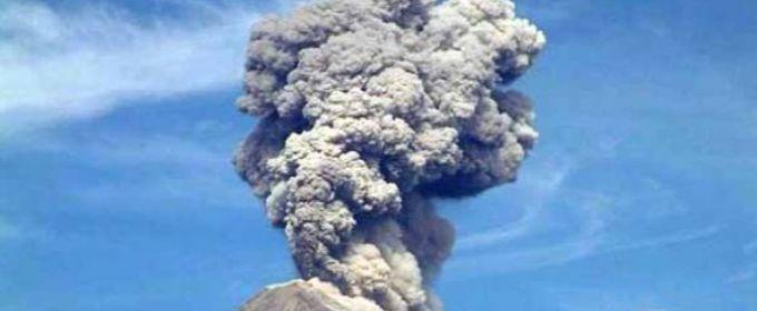 Мексиканський вулкан Коліма прокинувся (ВІДЕО)