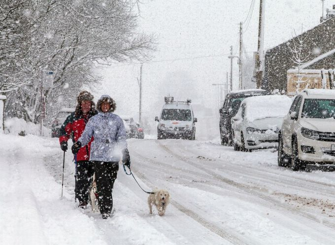 Зима в Болгарії викликала 400 аварій