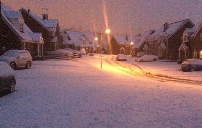 Ірландію накрило снігом