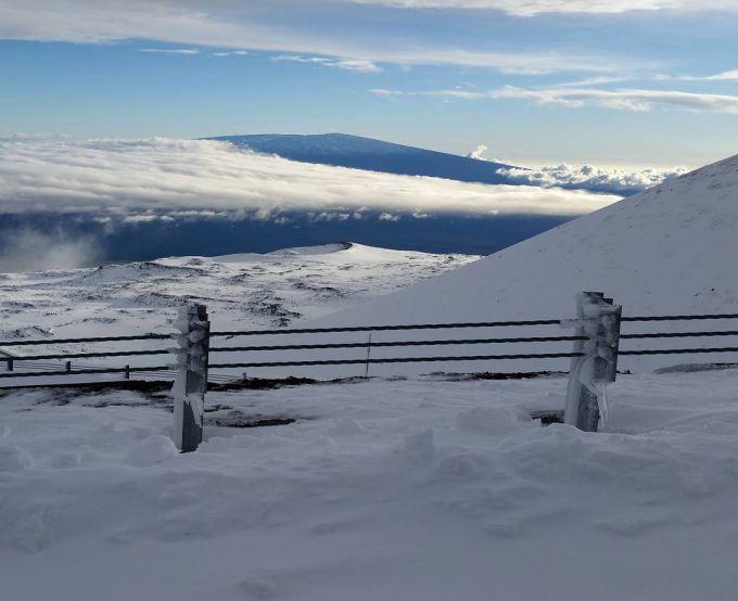 На Гаваях випав сніг (ФОТО)