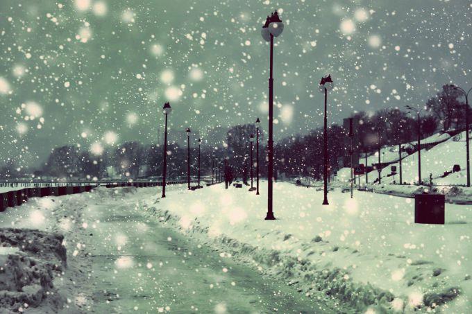 На Україну та Східну Європу йдуть снігопади
