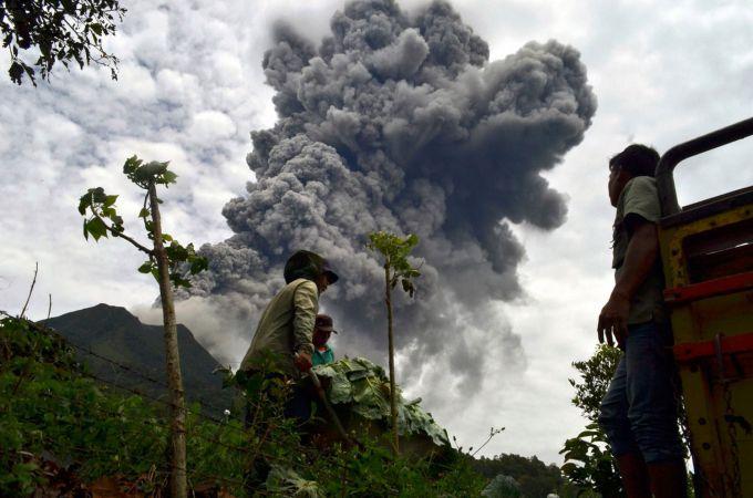 Вулкан в Індонезії вбив 7 людей