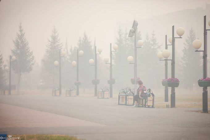 Дим від лісових пожеж огорнув Сибір смогом (ВІДЕО)