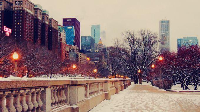 В Чикаго хуртовини насипали понад 15 см снігу