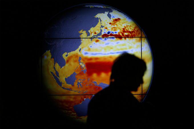 100 років зміни клімату за 20 секунд (ВІДЕО)