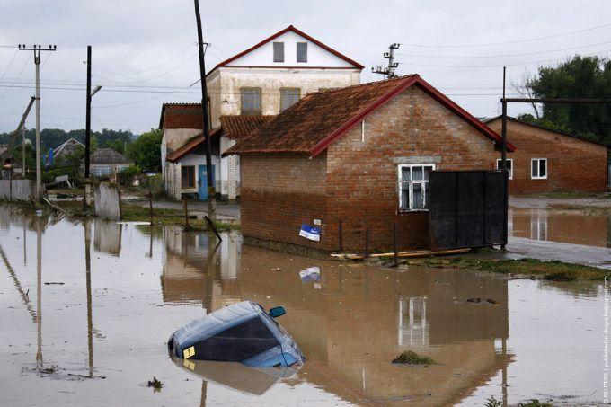 Масштабний потоп в Росії